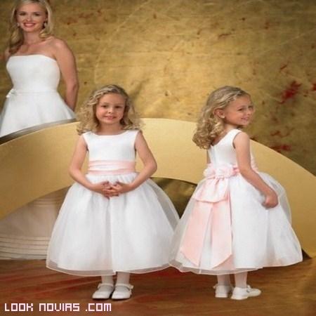 vestidos de gasa para pequeñas