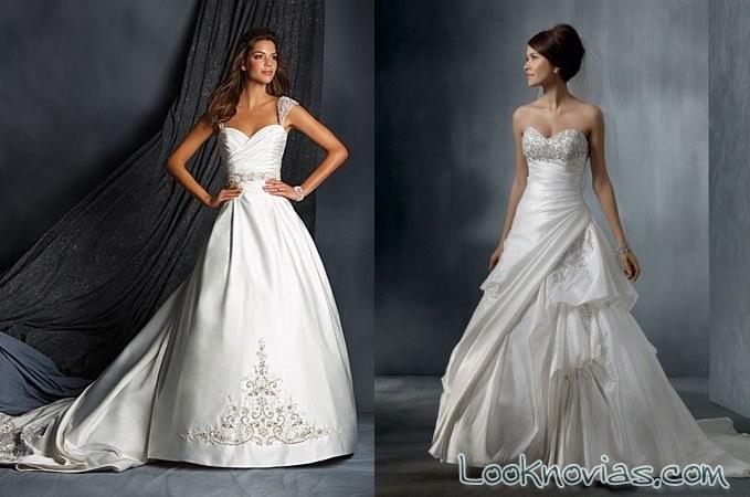 vestidos de novia alfred angelo