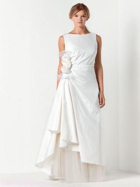 vestidos de novia sin escote