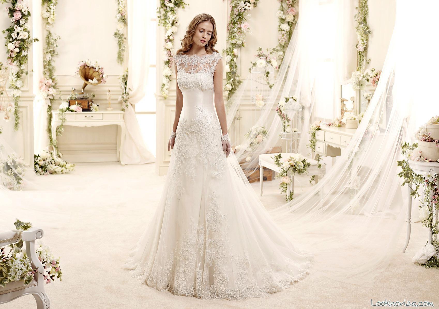 vestidos de novia colet colección 2015