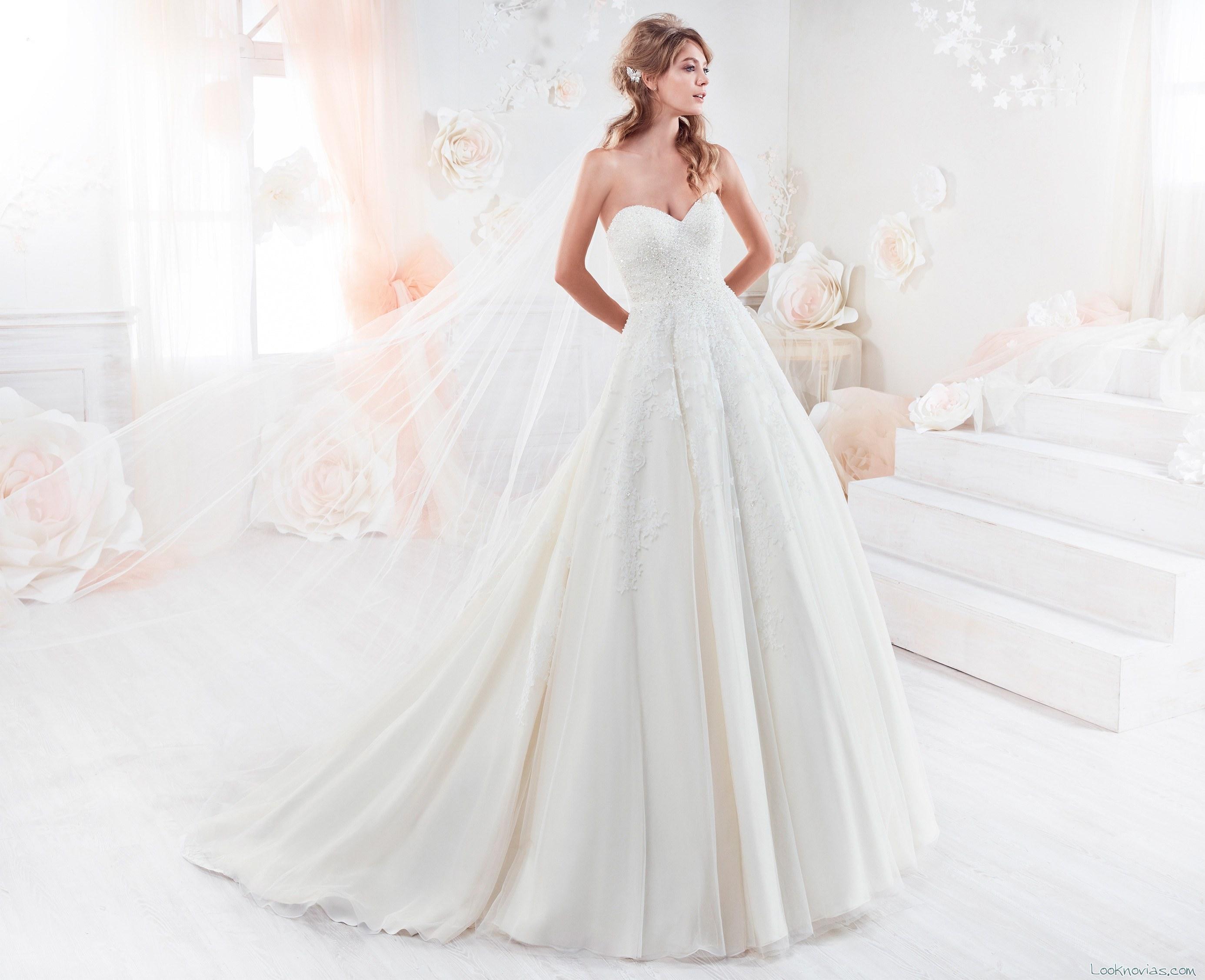 vestidos de novia colet para el 2018