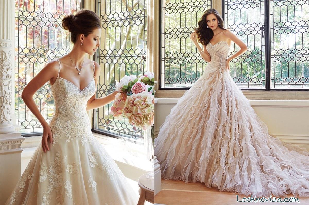Vestidos de novia con bordados de Sophia Tolli