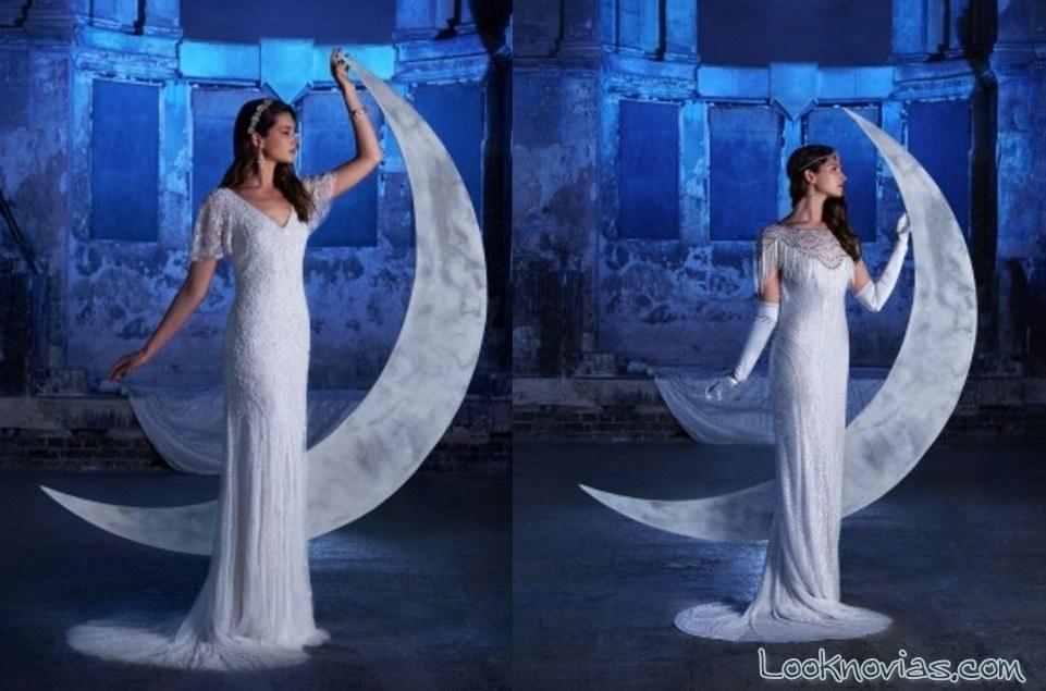 vestidos de novia con corte clásico eliza jane