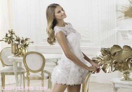 vestidos cortos para ceremonias civiles