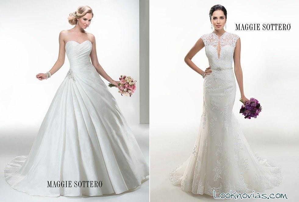 vestidos de novia elegantes 2014