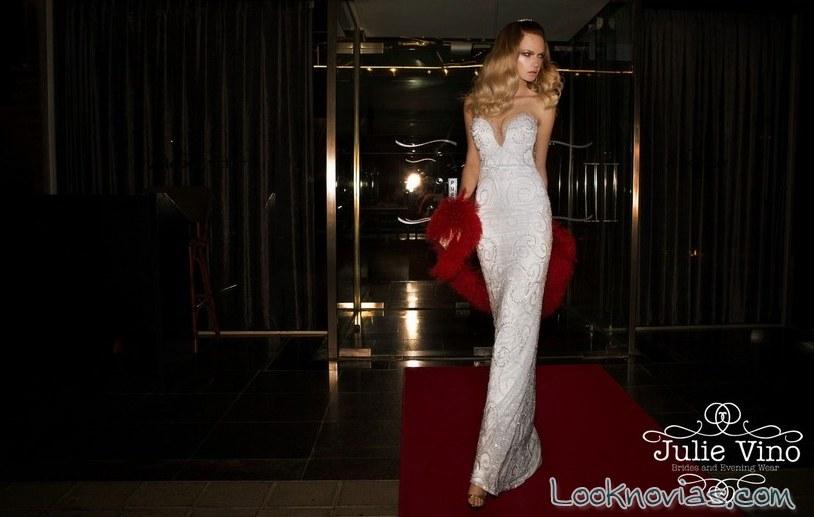 vestidos de novia en blanco por julie vino
