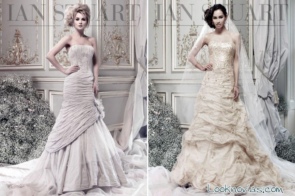vestidos de novia ian stuart en color