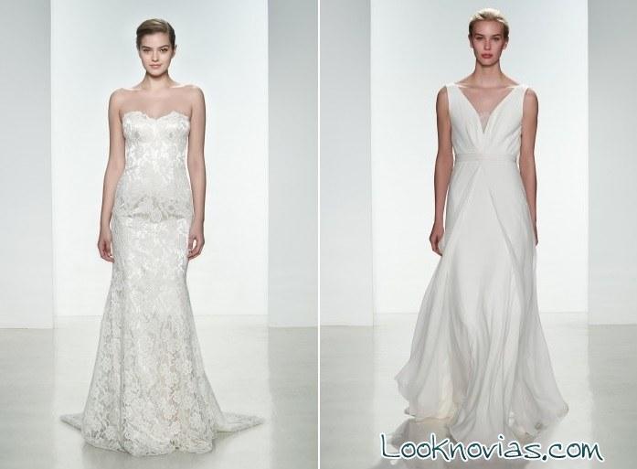 Vestidos de novia largos Christos