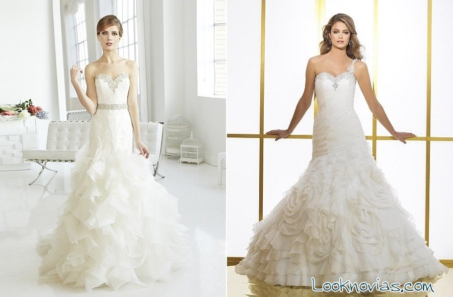 vestidos de novia largos de val stefani