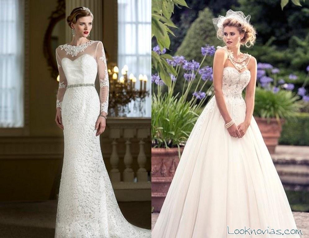 vestidos de novia largos por nicki flynn
