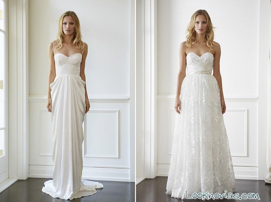 vestidos de novia Lisa Gowing