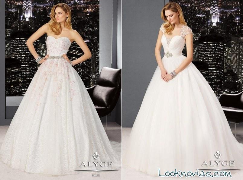 vestidos de novia modernos por claudine