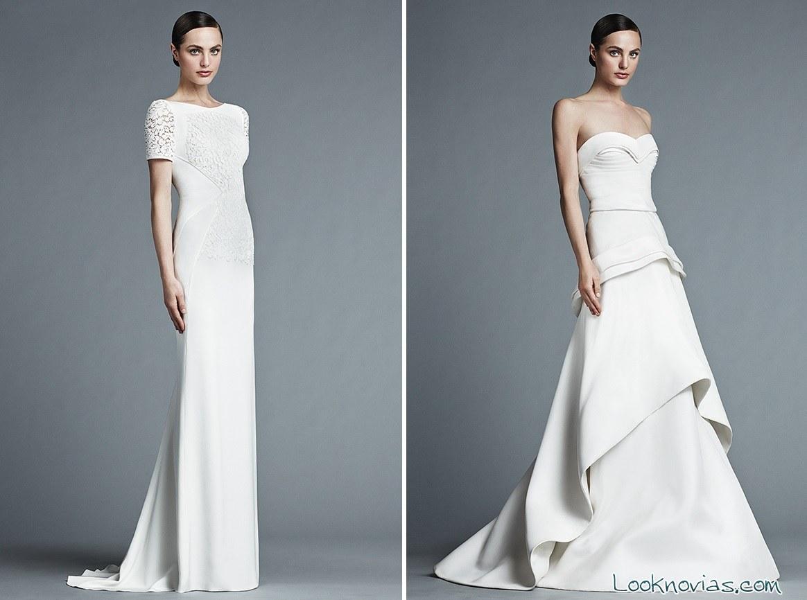 vestidos de novia originales de J Mendel