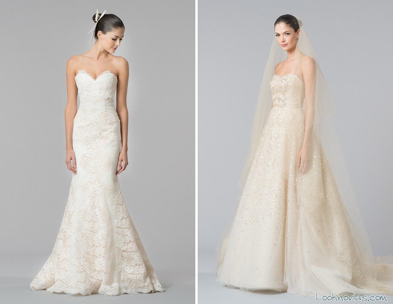 vestidos de novia otoñales