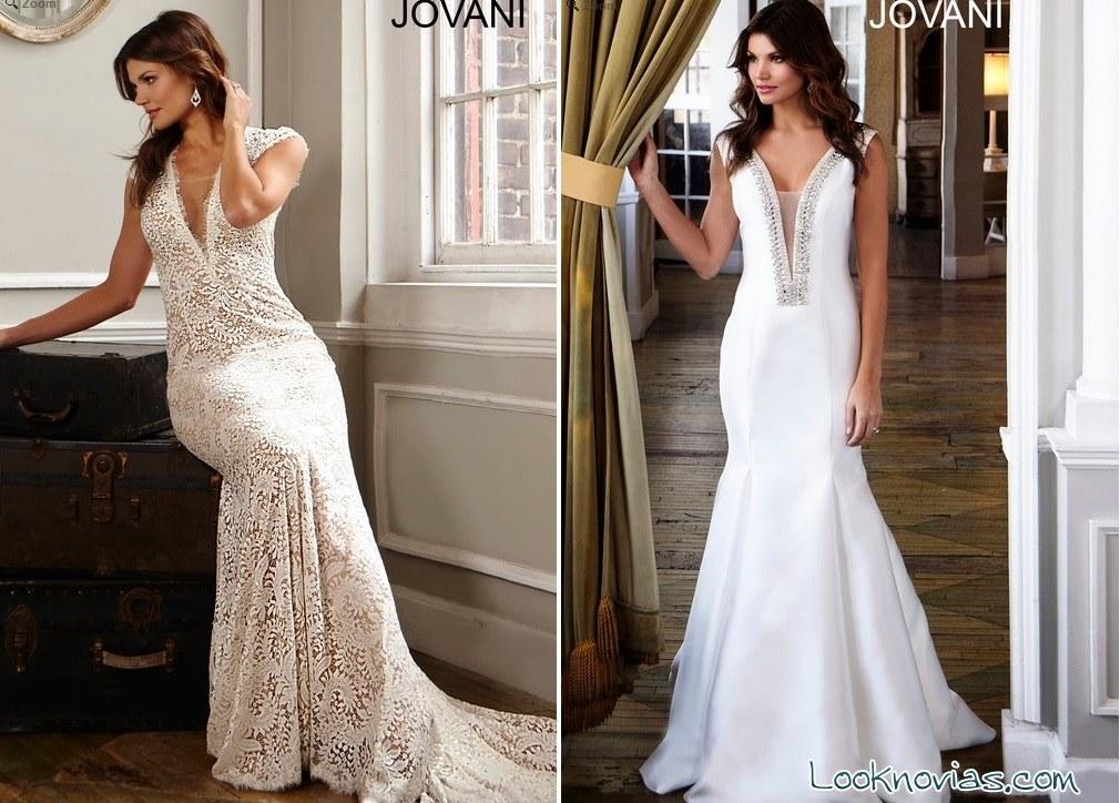 vestidos de novia rectos jovani bridal