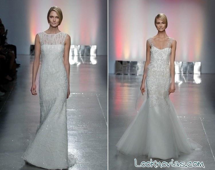 vestidos de novia rivini corte sirena