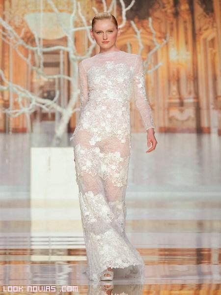 vestidos de novia blancos atrevidos