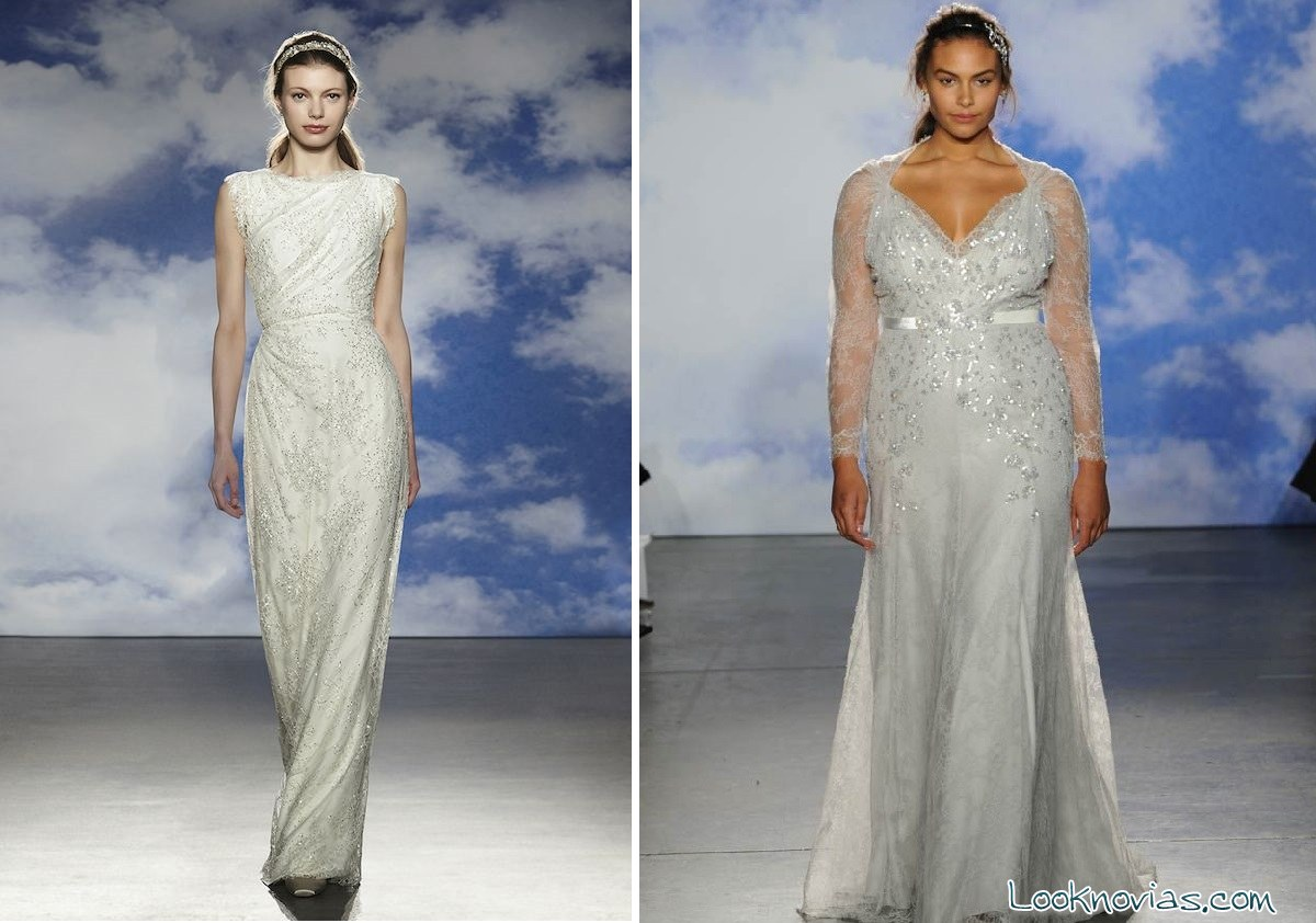 vestidos de pedrería para novias