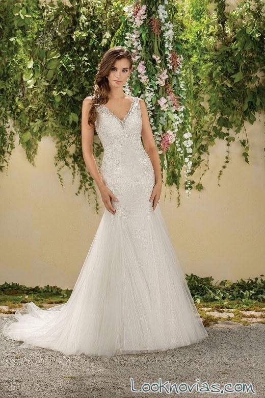 vestidos de tirantes en jasmine bridal