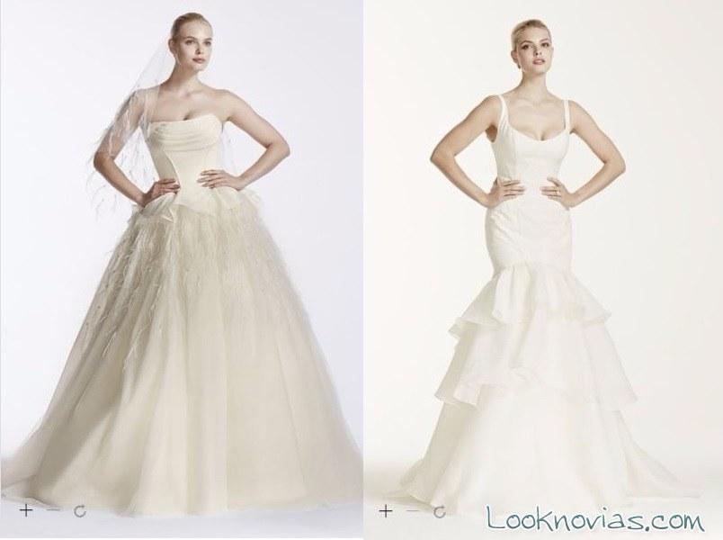 vestidos de zac posen para david´s bridal
