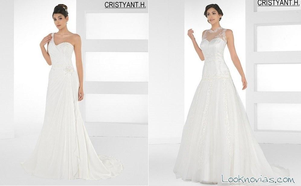 vestidos elegantes de cristyant H
