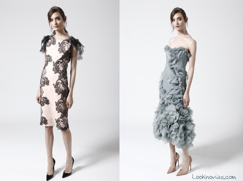 vestidos elegantes marchesa