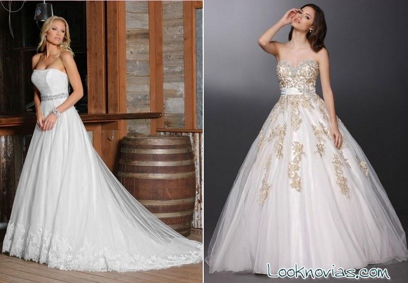 vestidos elegantes para novia da vinci