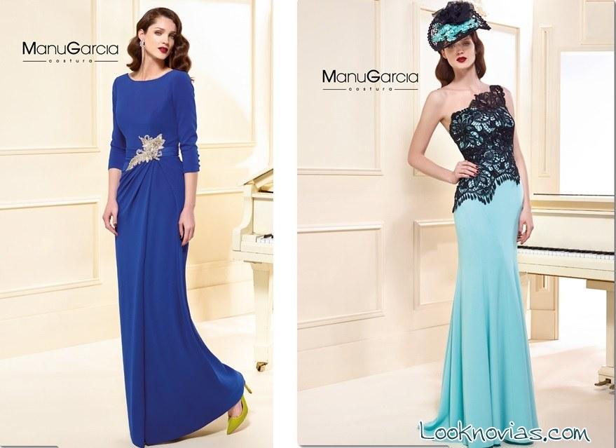 vestidos en azul de manu garcía