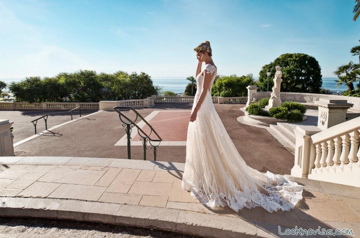 vestidos escotes nicole spose 2017