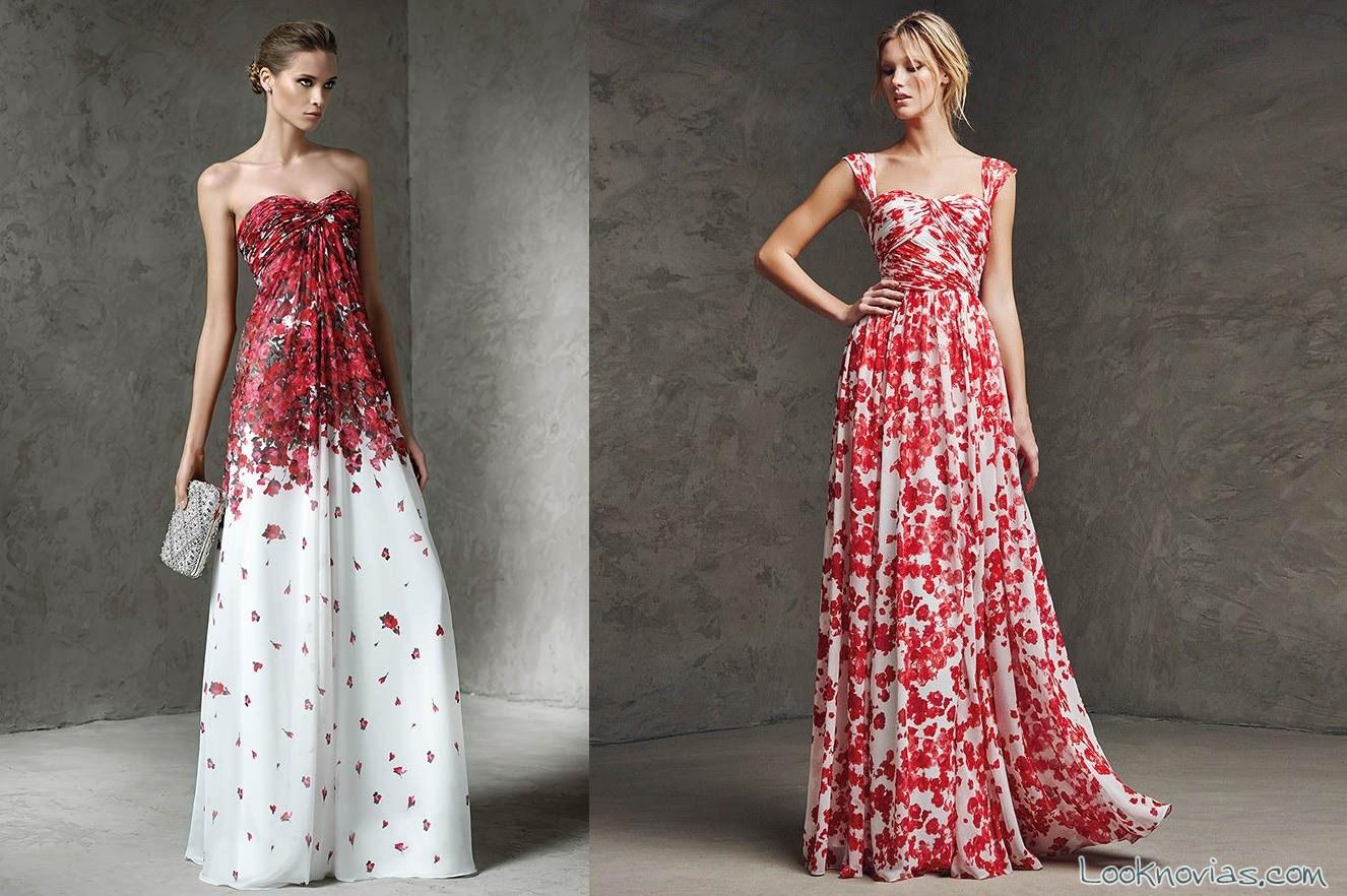 vestidos estampados pronovias