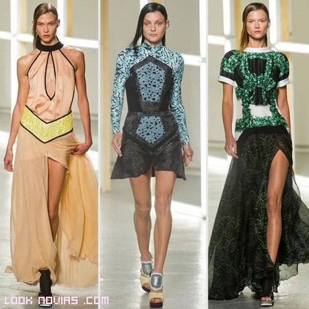vestidos futuristas