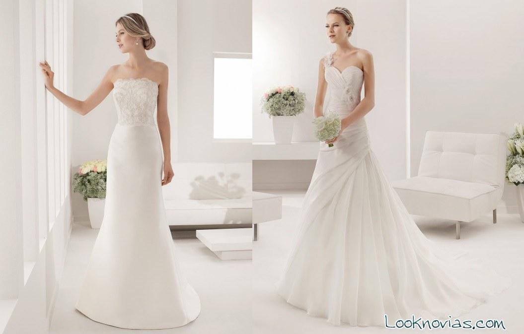 vestidos largos alma novia