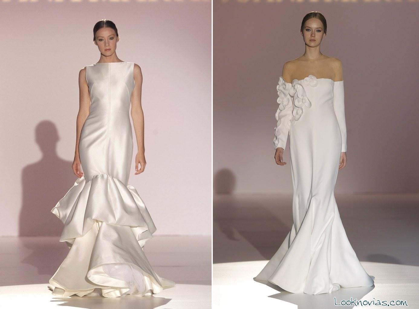 vestidos largos de novia 2015