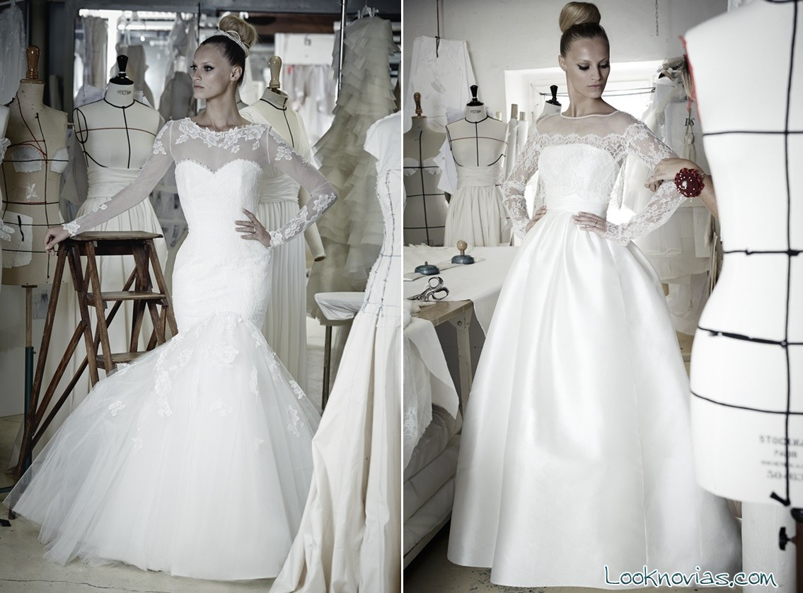 vestidos largos de novia Cymbeline