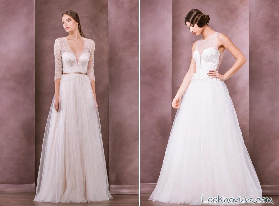 vestidos largos de novia divine atelier