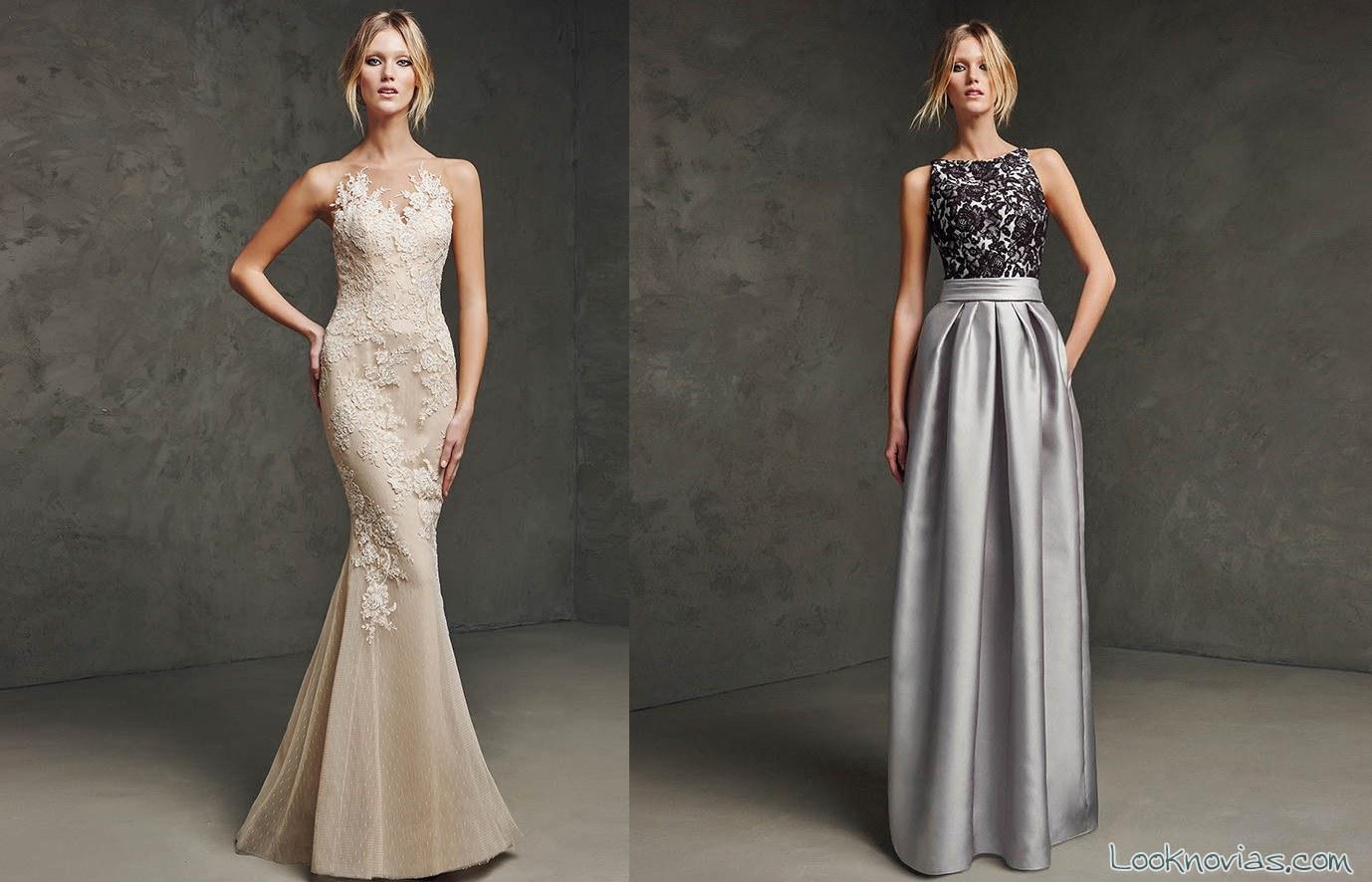 Vestidos largos elegantes de pronovias