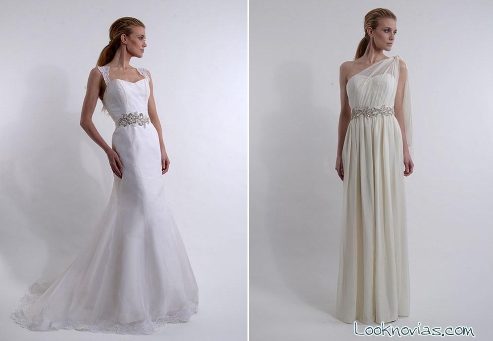 vestidos largos elizabeth st john