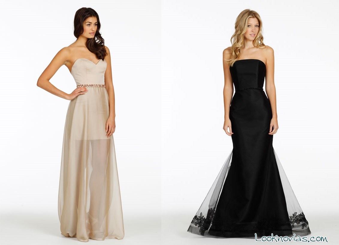 vestidos largos para invitadas modernas