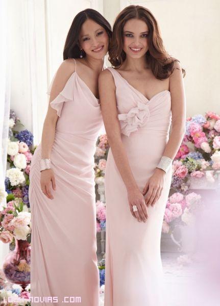 Vestidos de seda para damas