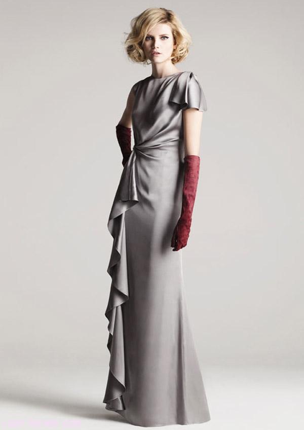vestidos de fiesta con guantes