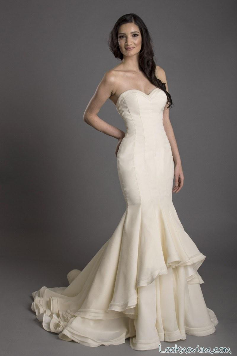 vestidos novias sirenas franssical