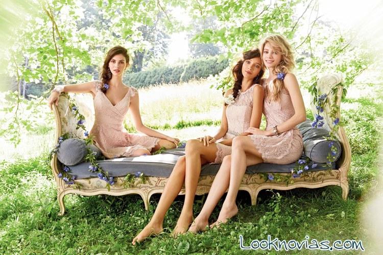 Vestidos Occasions color nude