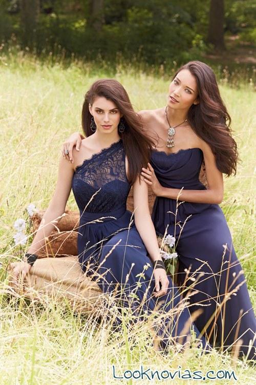 vestidos Occasions en color azul