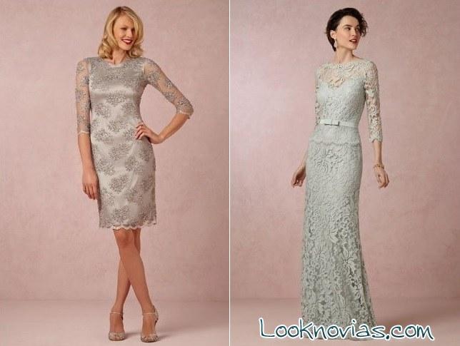 vestidos para la madre de la novia