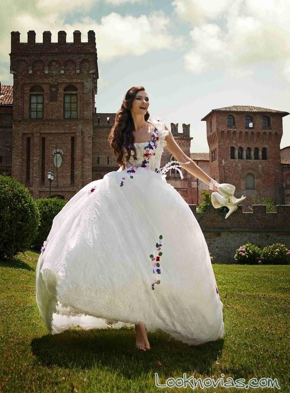 vestidos para novias amelia casablanca