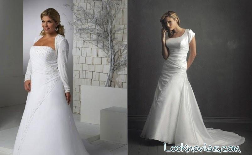 vestidos para novias más mayores