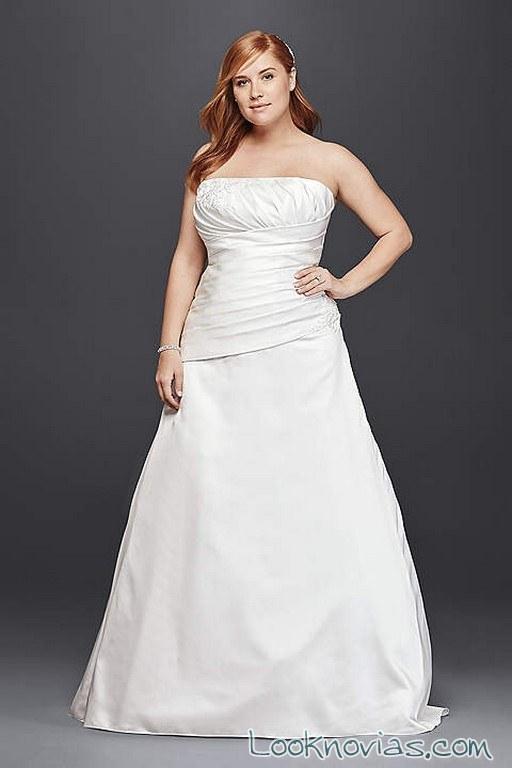 vestidos plus size para novias por menos de 100 euros