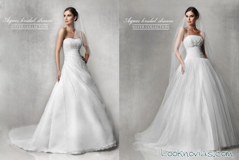 vestidos princesa de agnes bridal