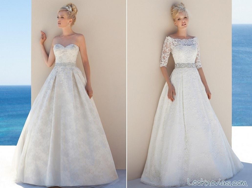 vestidos princesa de la firma Donna Salado