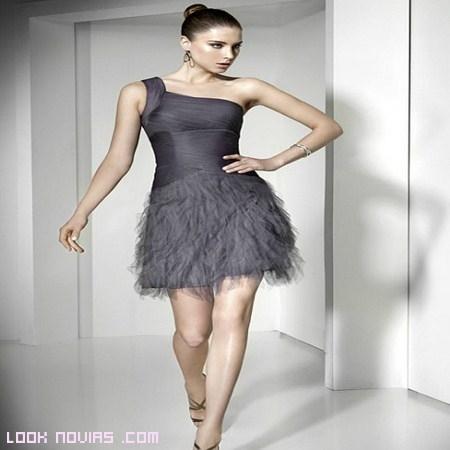 vestido asimétrico colores